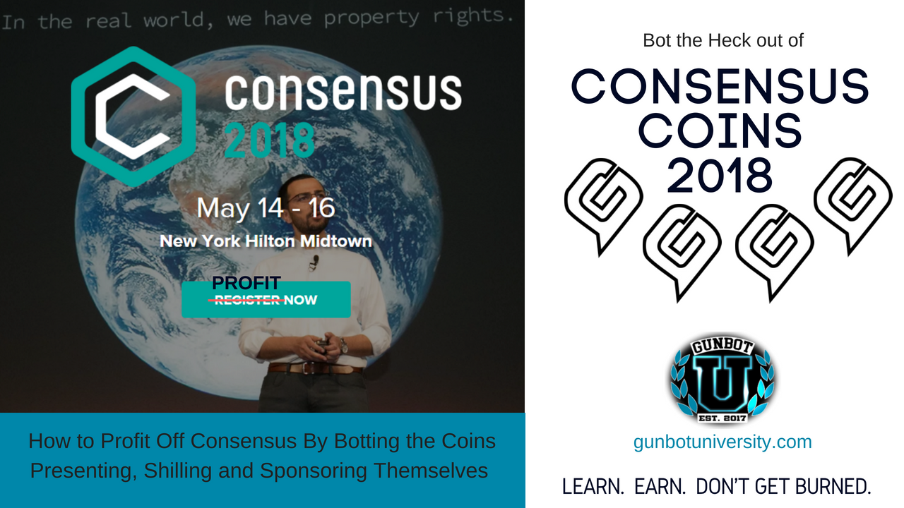 Bot the heck out of Consensus Coins 2018