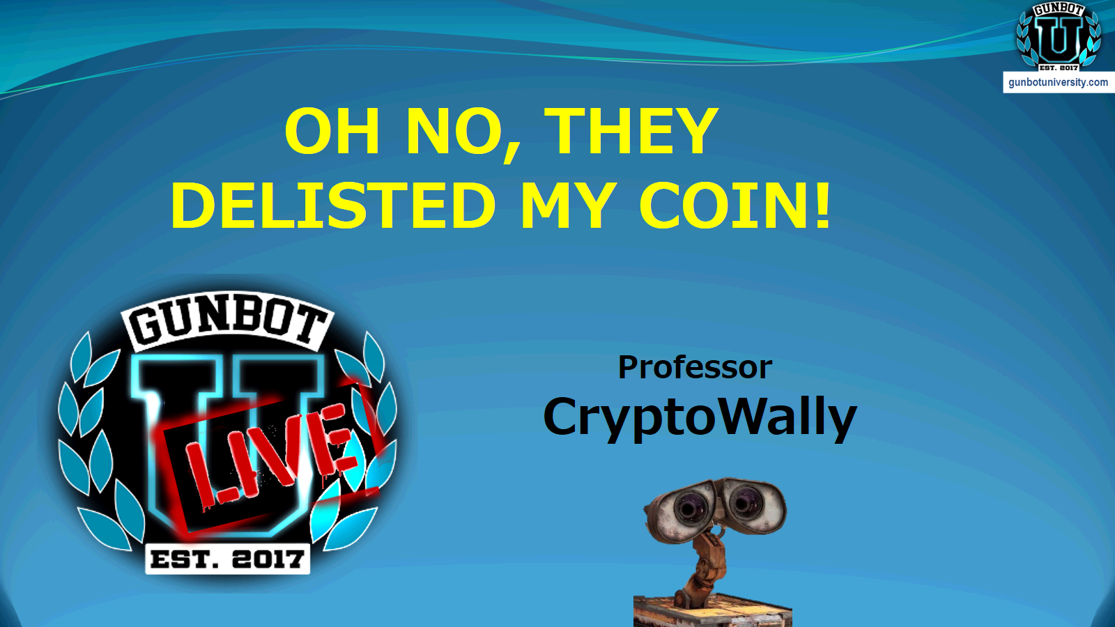 Oh no! They delisted my coin!