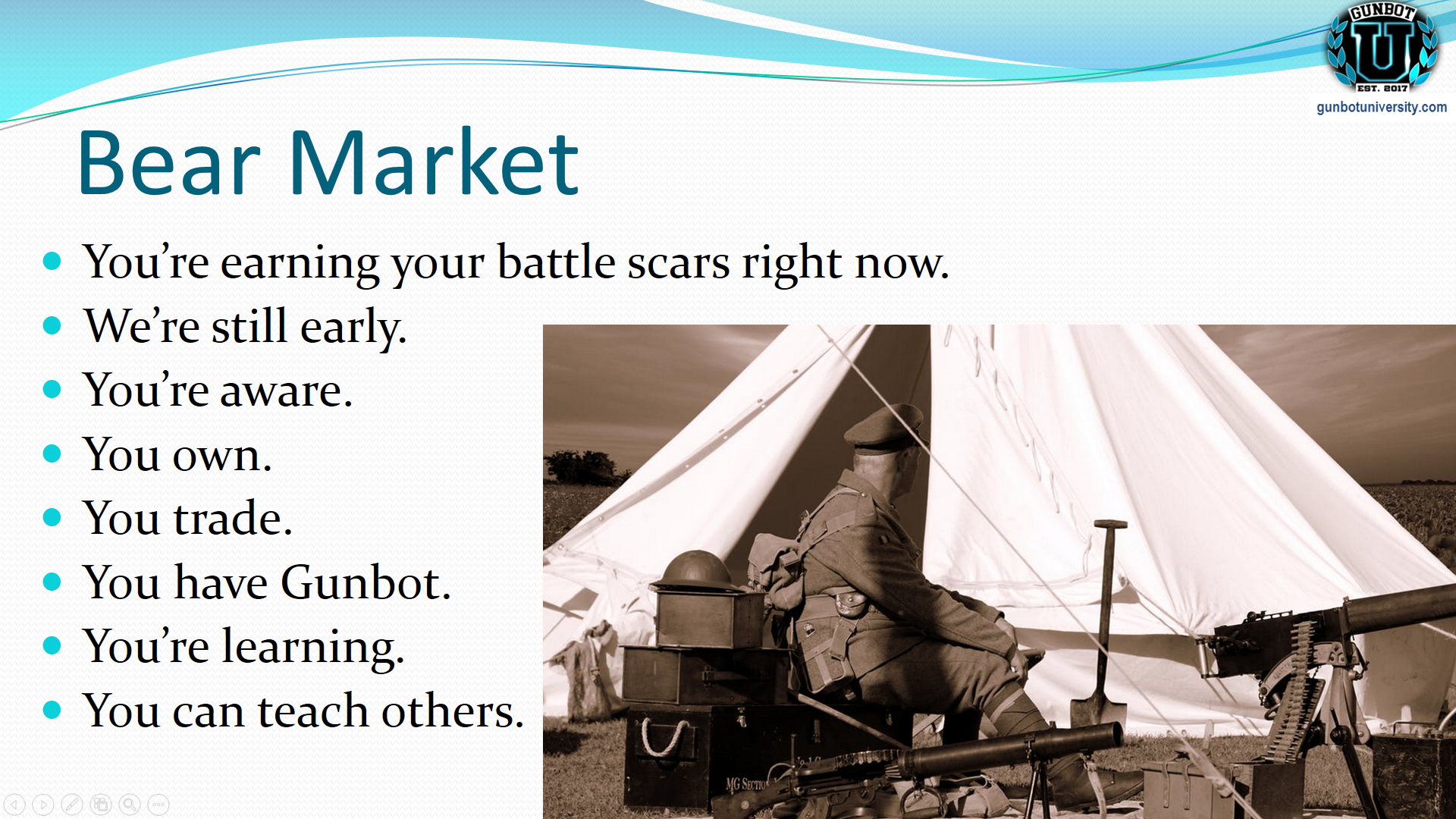 bear market - veteran