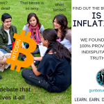 is BTC inflationary? We found the 100% provable indisputable truth