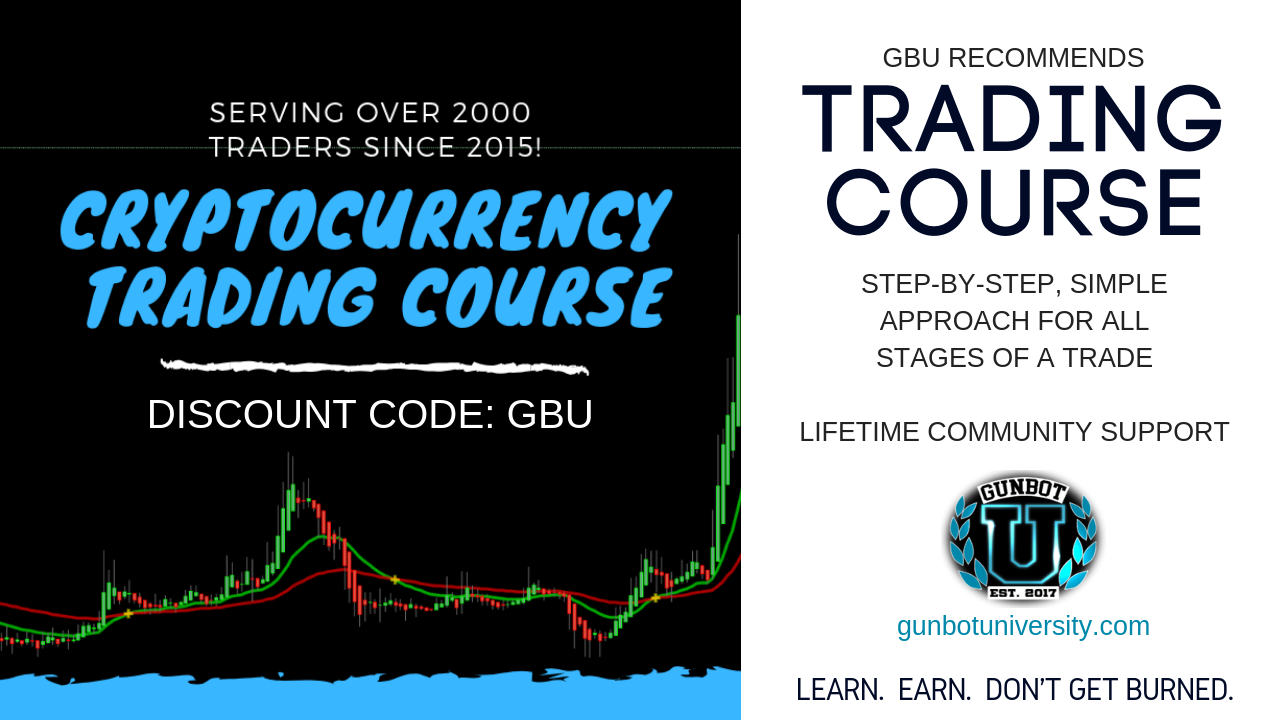 GBU RECOMMENDS trading course. Step-by-step, simple approach for all stages of a trade LIfetime community support. Discount code GBU