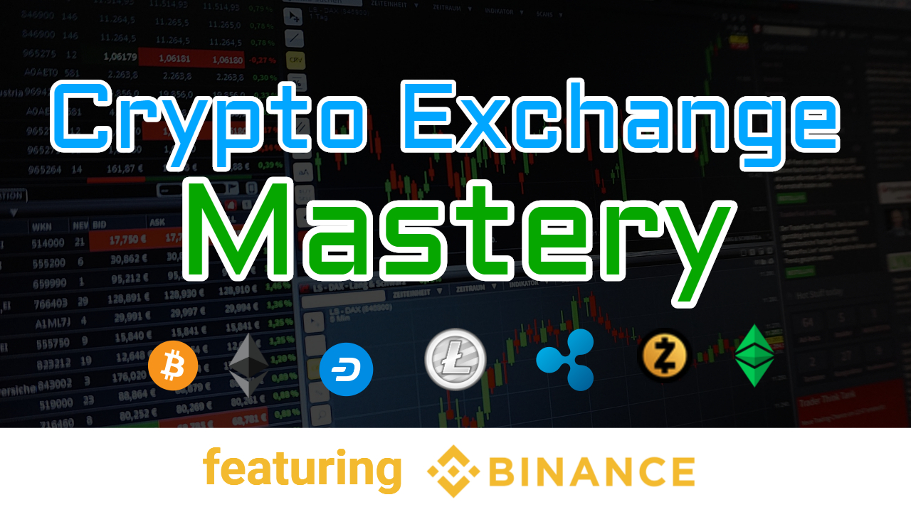 crypto exchange mastery course by cryptoversity