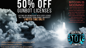 50 Off gunbot licenses Bitcoin Mooning