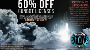 50 Off gunbot licenses Bitcoin Mooning 660x371